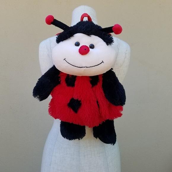 none Handbags - Ladybug backpack
